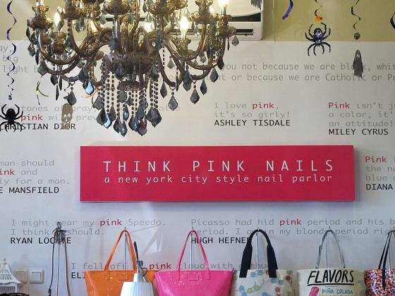 Think Pink Nails Seminyak Bali