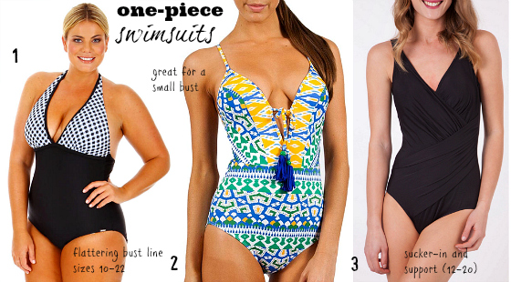 swimwear 2013 one-piece | how to feel good in a swimsuit | resort week