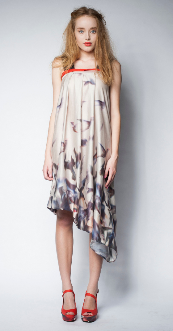 Dogstar 3/4 Plume dress | spring summer 2013-14
