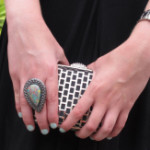 FEATURED Samantha Wills ring Witchery clutch Guess watch