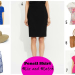 How to dress well as a teacher in summer - pencil skirts
