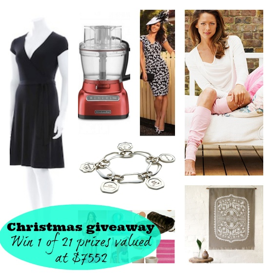 Styling You Christmas giveaway