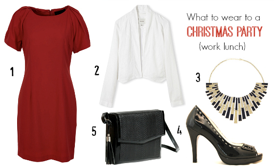 What to wear to a Christmas Party work lunch