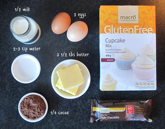 Woolworths Macro Gluten Free Cupcakes