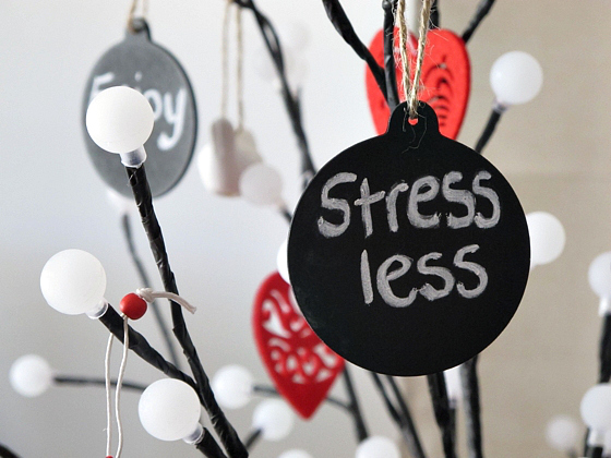 How to cope with stress at Christmas