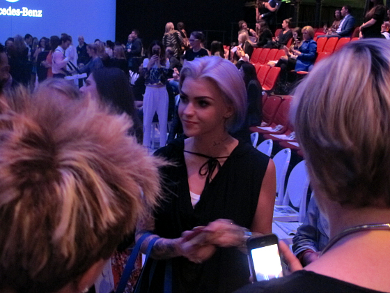 SY readers meet Ruby Rose at MBFFS
