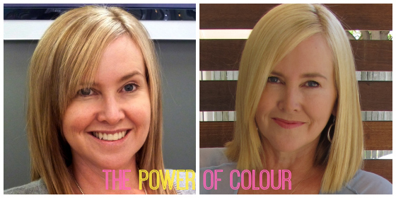 The power of colour in a good hair day