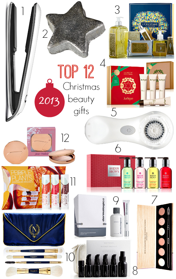Top 12 beauty gifts 2013