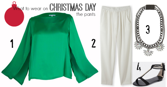 What to wear Christmas Day - the pants