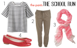 FEATURED What to wear on the school run the pants