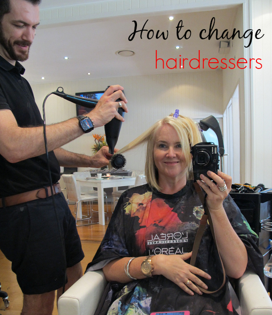 How to change hairdressers