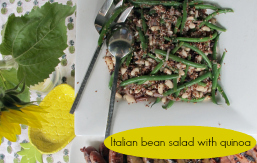 featured Italian bean salad