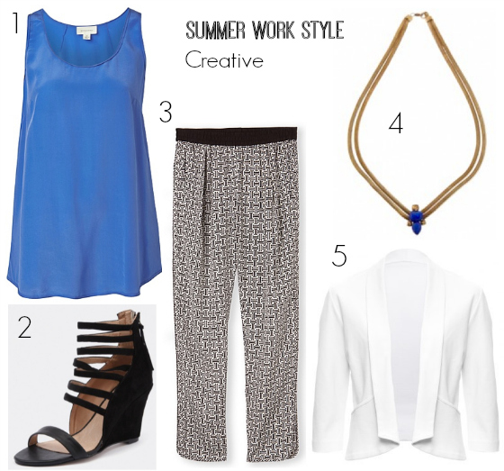 summer work style creative