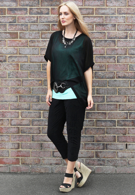Motto pants, cami and top