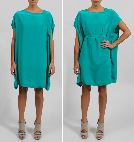 Surafina cape dress