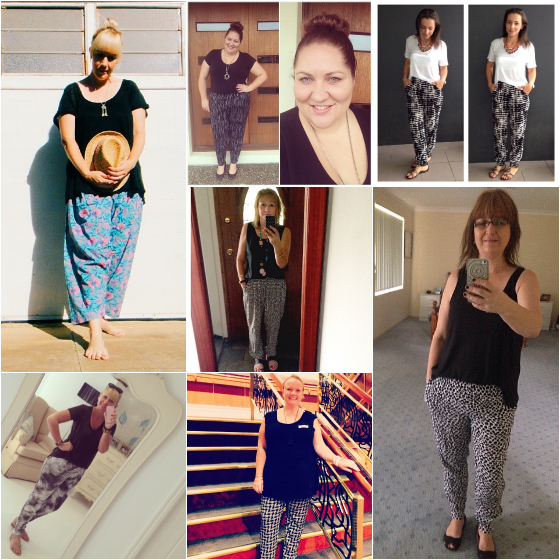 Everyday style outfits of the week | printed pants