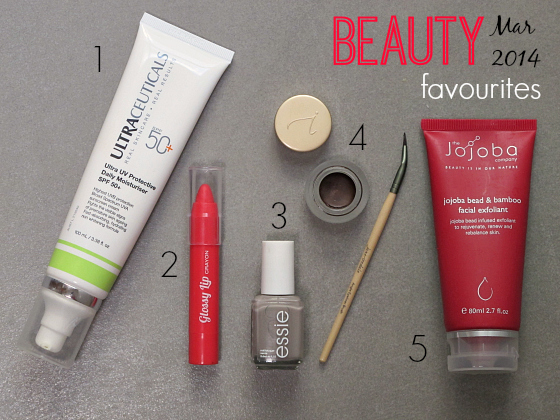 Styling You beauty favourites March 2014