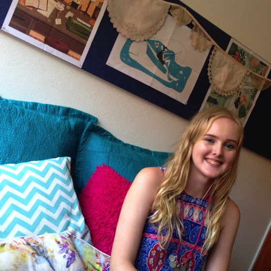 Things I'm loving- Miss SY moves into college and embraces cushioning
