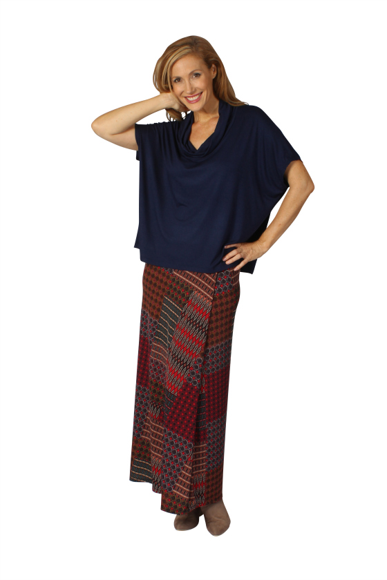 Verily AW14 cowl top and Marrakesh maxi skirt.jpg