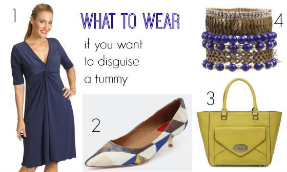 What to wear if you want to disguise a tummy