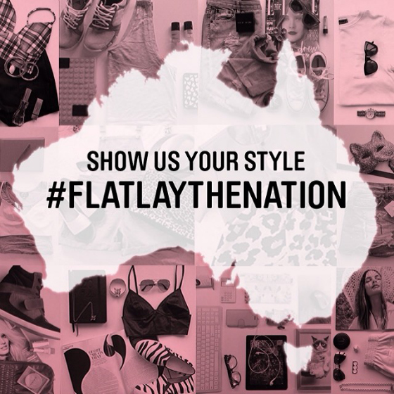#flatlaythenation