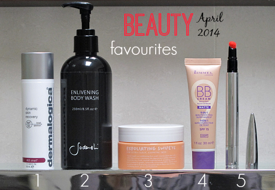 Styling You Beauty Favourites April 2014
