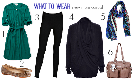 What to wear new mum casual autumn-winter