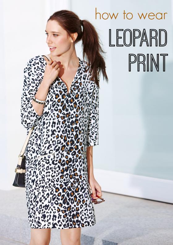 Как носить леопардовый Sussan платье