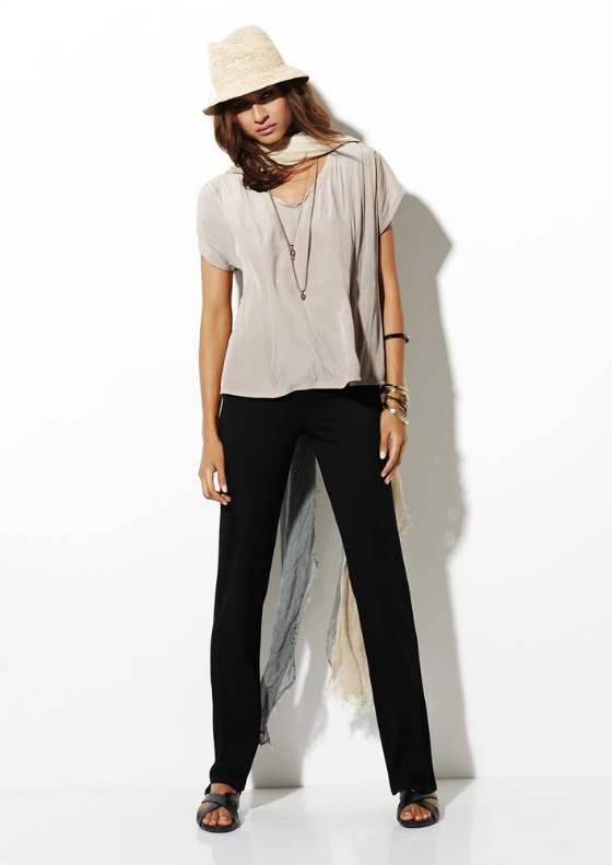Mela Purdie Style Icons | cruise top | long pant