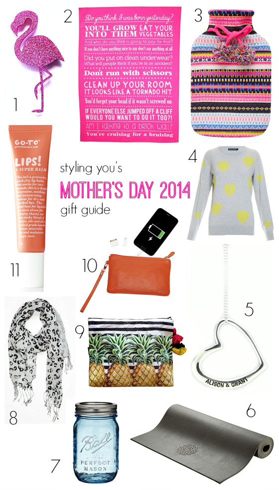 Mother's Day 2014 gift ideas