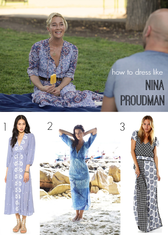 How to dress like Nina Proudman | Tigerlily maxi dress