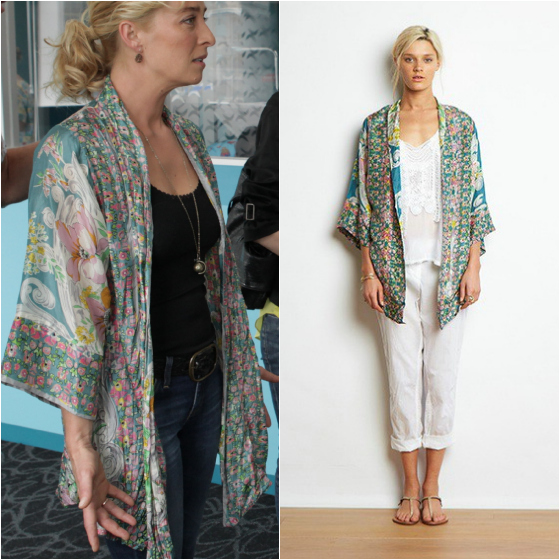 Johnny Was kimono as seen on Nina Proudman Offspring