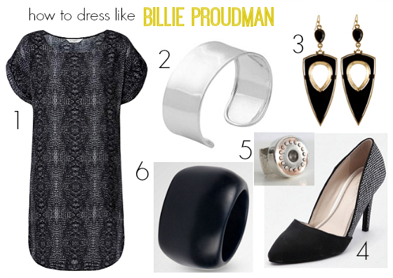 How to dress like Billie Proudman