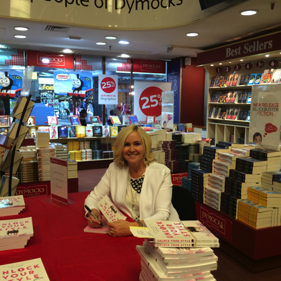 Book signing at Dymocks Books Sydney