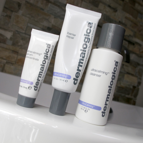 Dermalogica Ultracalm range can help with skin sensitivty flare ups