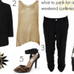 FEATURED What to pack for a conference evening networking