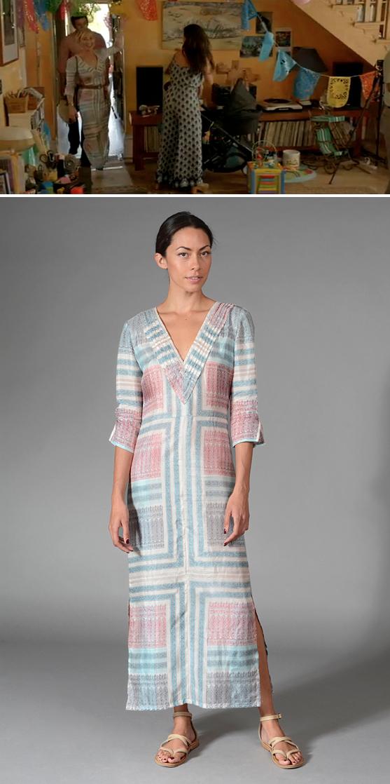 Nina Proudman wearing Lola Australia maxi dress