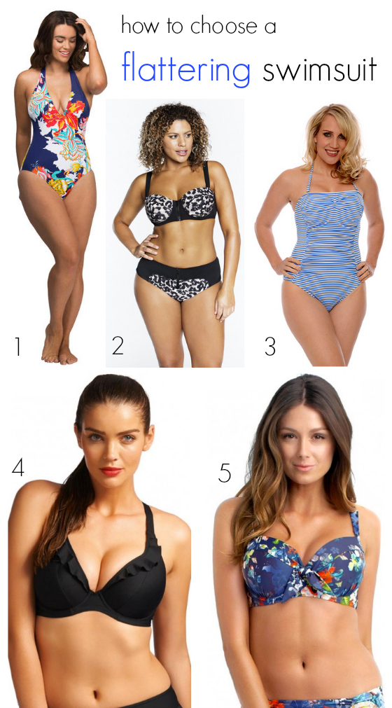 How to choose a flattering swimsuit