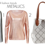 Spring 2014 fashion trends metallics