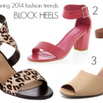 spring 2014 fashion trends - block heels
