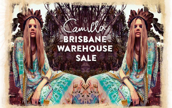 Camilla Brisbane Warehouse Sale
