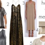 FEATURED How to wear metallics