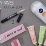 FEATURED beauty favourites October 2014