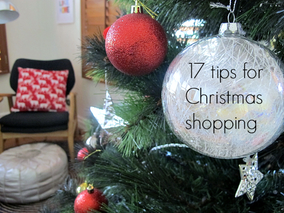 17 tips for Christmas shopping