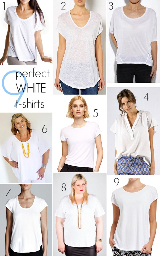 How to find your perfect white t-shirt