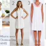 FEAT What to wear Christmas Day - white
