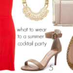 FEATURED What to wear summer party cocktail