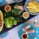 FEATURED rice paper rolls