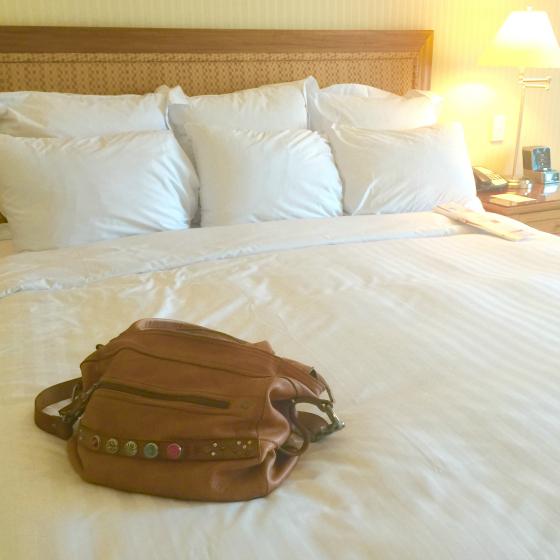 Brisbane Marriott Hotel - bed