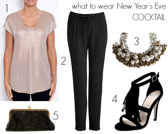 What to wear New Year's Eve - cocktail
